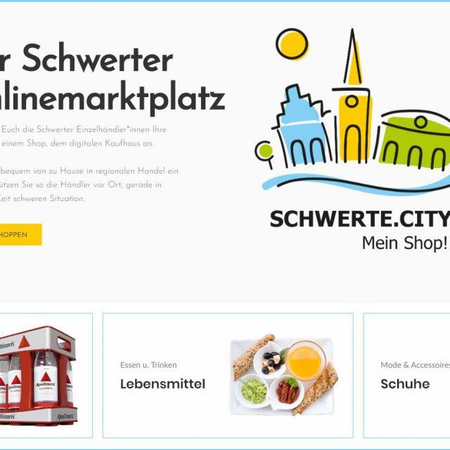 Das digitale Kaufhaus Schwerte.City Mein Shop! ist startklar – Händler können weiter Ihre Produkte verkaufen